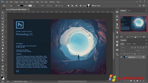 Screenshot Adobe Photoshop for Windows XP