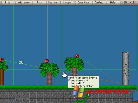 Screenshot Game Editor for Windows XP