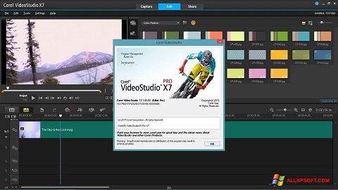 Screenshot Corel VideoStudio for Windows XP