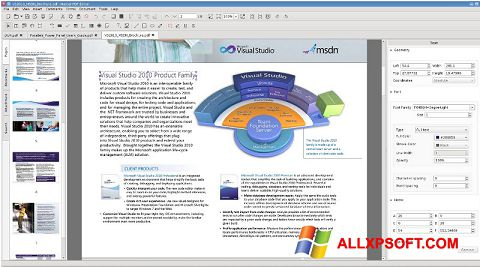 Screenshot Master PDF Editor for Windows XP