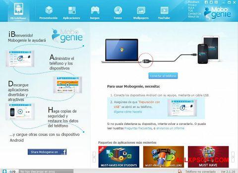 Screenshot Mobogenie for Windows XP