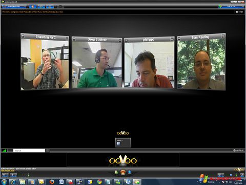 Screenshot ooVoo for Windows XP