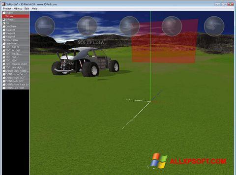 Screenshot 3D Rad for Windows XP