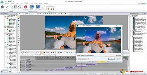 Screenshot VSDC Free Video Editor for Windows XP