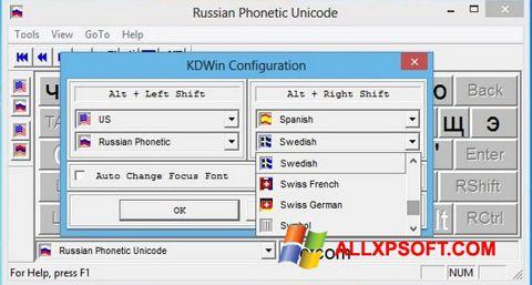 Screenshot KDWin for Windows XP