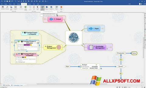 Screenshot MindManager for Windows XP