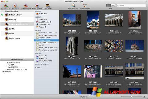 Screenshot iPhoto for Windows XP