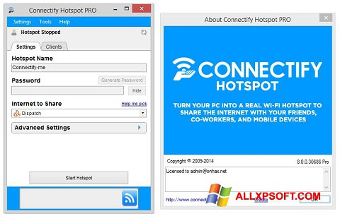 Connectify hotspot old version download for windows xp.