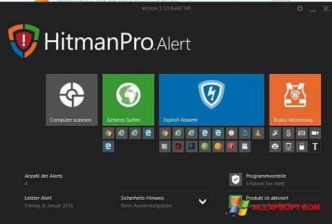 Screenshot HitmanPro for Windows XP