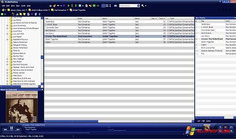 Screenshot MediaMonkey for Windows XP