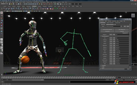 Screenshot Autodesk Maya for Windows XP