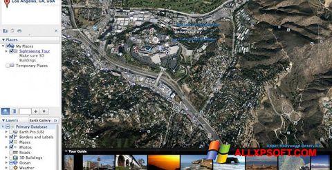 Screenshot Google Earth Pro for Windows XP