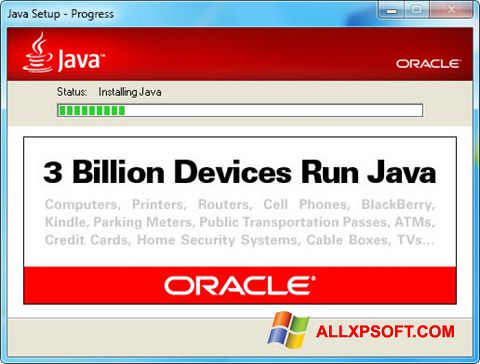 Screenshot Java Runtime Environment for Windows XP