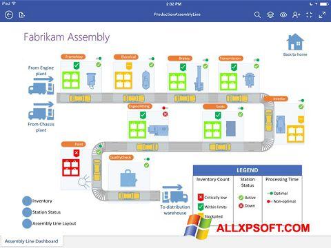 Screenshot Microsoft Visio Viewer for Windows XP