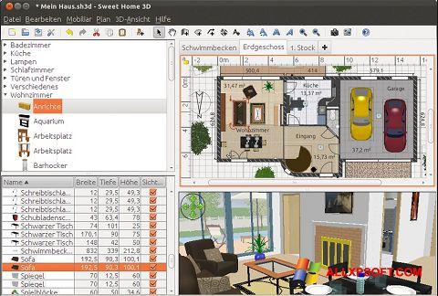 Screenshot Sweet Home 3D for Windows XP