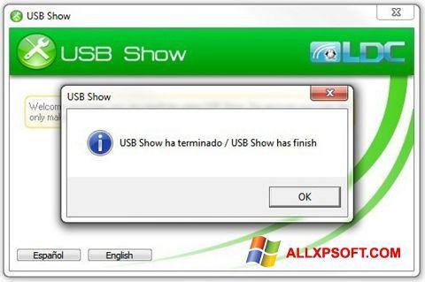Screenshot USB Show for Windows XP