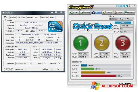 Screenshot EasyTune for Windows XP