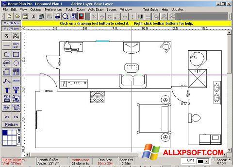 Screenshot Home Plan Pro for Windows XP