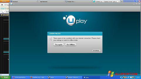 Screenshot Uplay for Windows XP