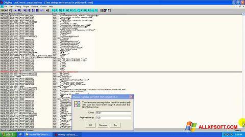 Screenshot PDF2Word for Windows XP