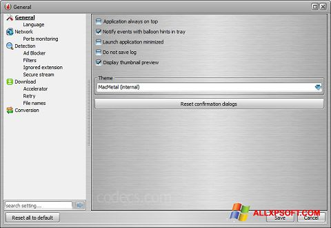 Screenshot VSO Downloader for Windows XP