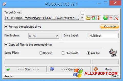 Screenshot Multi Boot USB for Windows XP