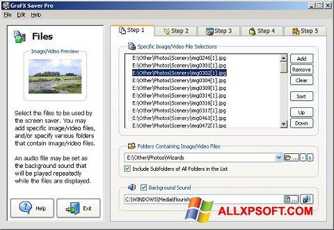 Screenshot VideoSaver for Windows XP