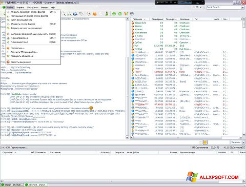 Screenshot FlylinkDC++ for Windows XP