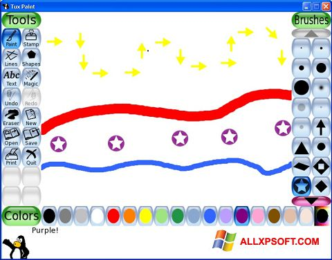 Screenshot Tux Paint for Windows XP