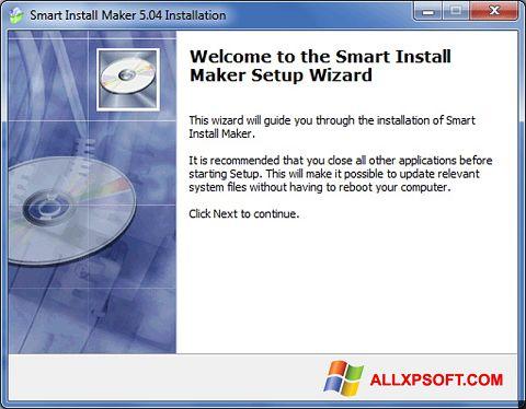 Screenshot Smart Install Maker for Windows XP