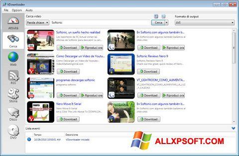 Screenshot VDownloader for Windows XP