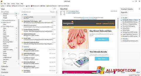 Screenshot eM Client for Windows XP