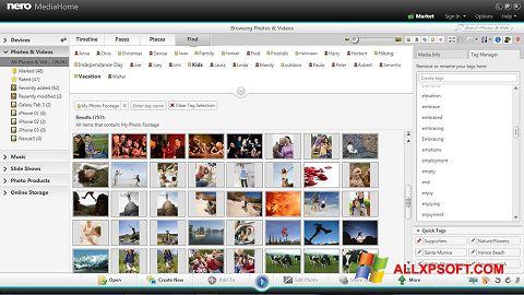 Screenshot Nero MediaHome for Windows XP
