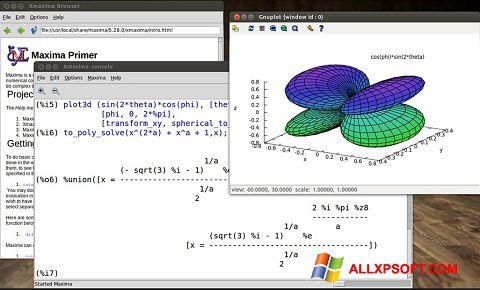 Screenshot Maxima for Windows XP