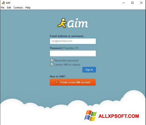 Download AOL Instant Messenger for Windows XP (32/64 bit) in English