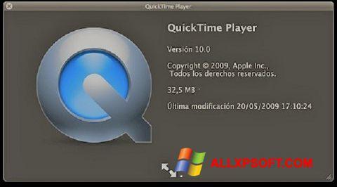 Screenshot QuickTime for Windows XP