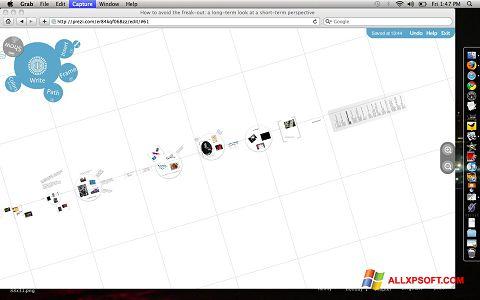 Screenshot Prezi for Windows XP