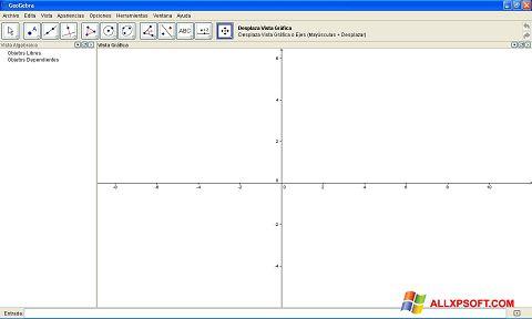 Screenshot GeoGebra for Windows XP