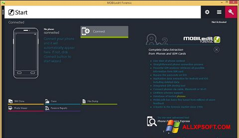 Screenshot MOBILedit! for Windows XP