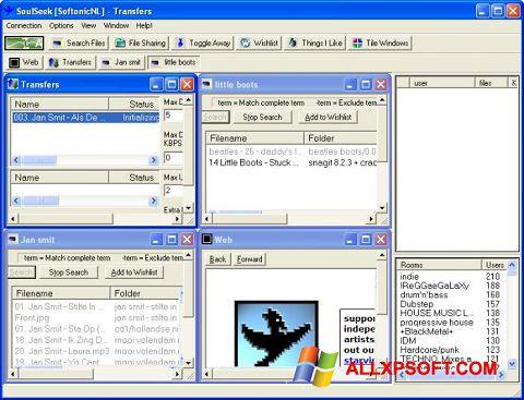 Screenshot Soulseek for Windows XP