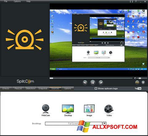Screenshot SplitCam for Windows XP
