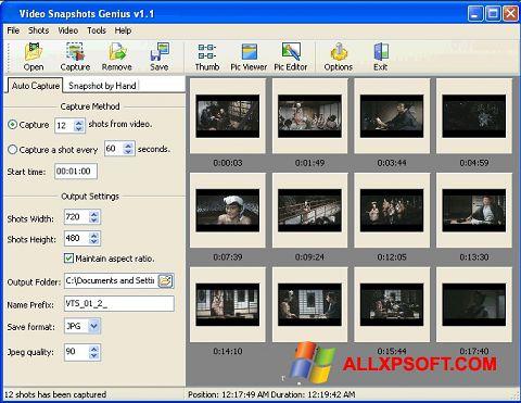 Screenshot SnapShot for Windows XP