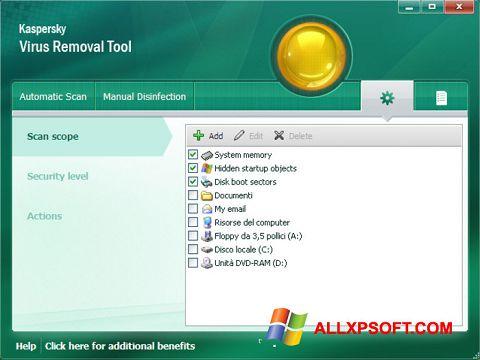 Update the avp tool kaspersky virus removal tool database manually.