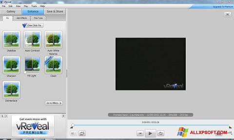 Screenshot vReveal for Windows XP