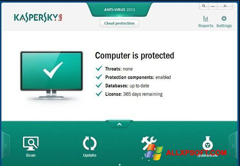 free antivirus for windows xp kaspersky