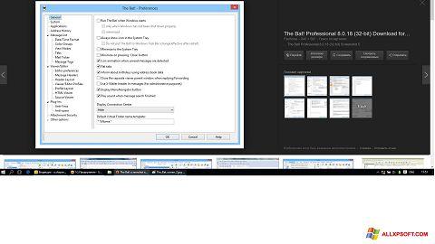 Screenshot The Bat! for Windows XP