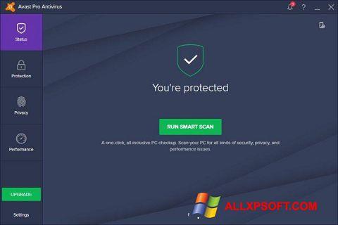 Screenshot Avast! Pro Antivirus for Windows XP