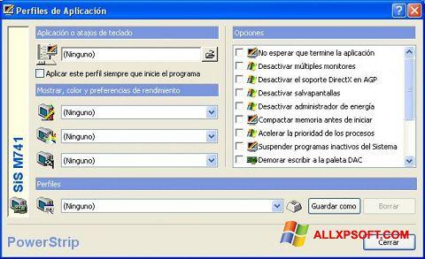 Screenshot PowerStrip for Windows XP