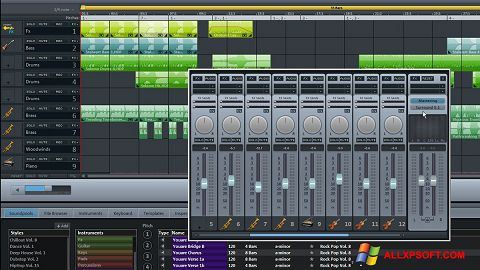 Screenshot MAGIX Music Maker for Windows XP