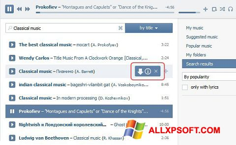 Screenshot SaveFrom.net for Windows XP